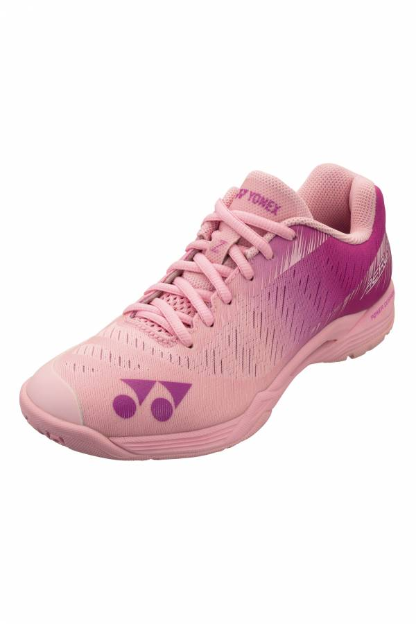YONEX POWER CUSHION AERUS Z L 女羽球鞋(粉) YONEX,AZL,羽球鞋,女款