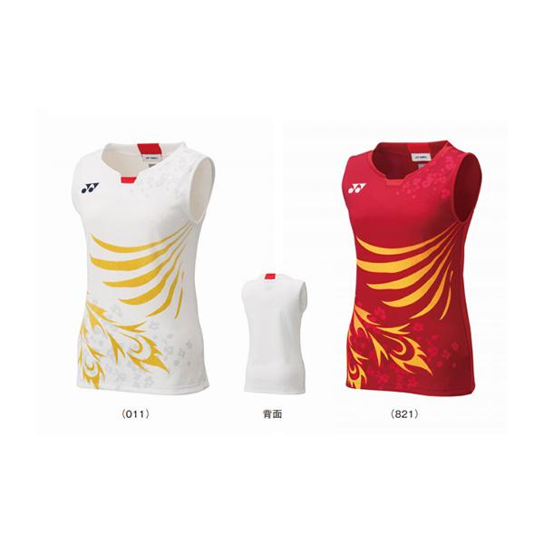 YONEX 20571EX 日本國家隊上衣 (女/無袖) YONEX,20571EX,運動上衣,無袖