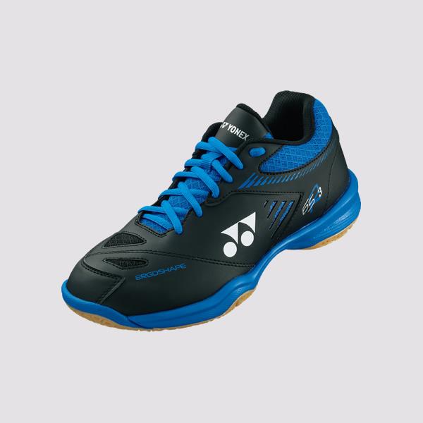 YONEX POWER CUSHION 65 R3 男女羽球鞋(黑/藍) YONEX,65R3,羽球鞋,男女款
