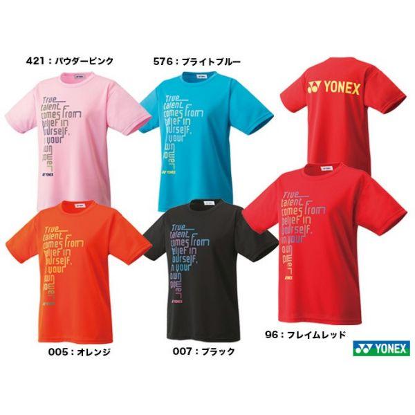 零碼出清 YONEX 16286Y 受注會限定T恤 (女) YONEX,16308Y,零碼出清