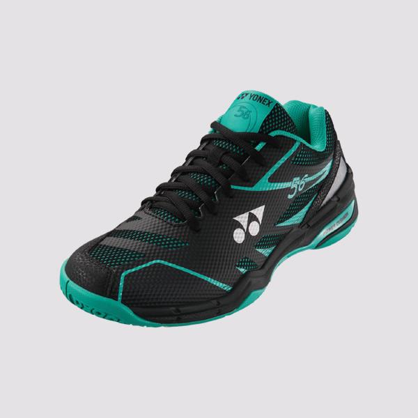 YONEX POWER CUSHION 56 男女羽球鞋(黑/綠) YONEX,56EX,羽球鞋,男女款
