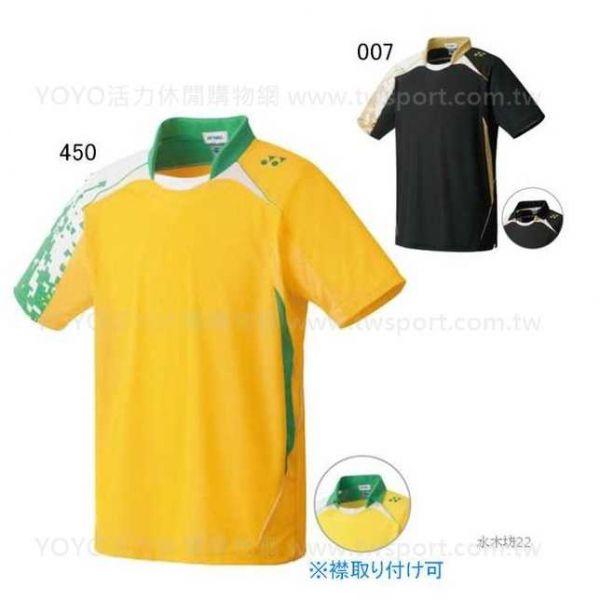YONEX 10140 運動POLO上衣  (男/中性) YONEX,10140,JP,男,運動上衣