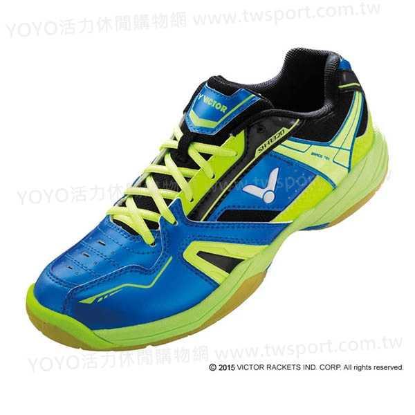 零碼出清 VICTOR SH-A320FG 專業羽球鞋 (藍/綠) 零碼出清,VICTOR