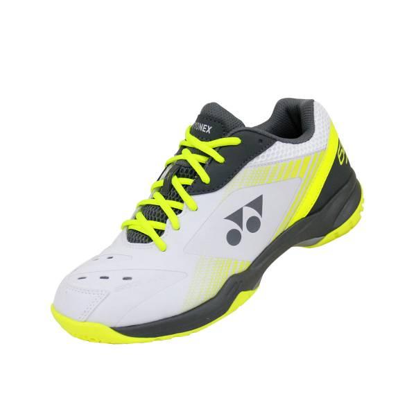 YONEX POWER CUSHION 65 X 男女羽球鞋(白/檸檬綠) YONEX,SHB65XEX,羽球鞋,男女