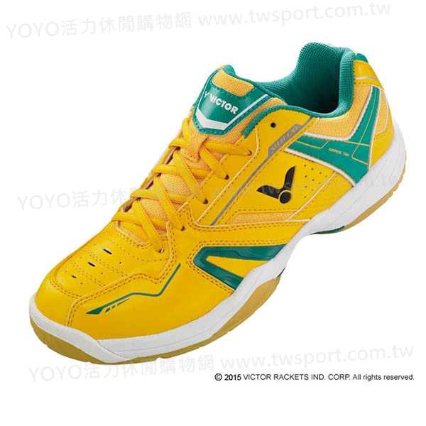 零碼出清 VICTOR SH-A320E 專業羽球鞋 (黃/綠) 零碼出清,VICTOR