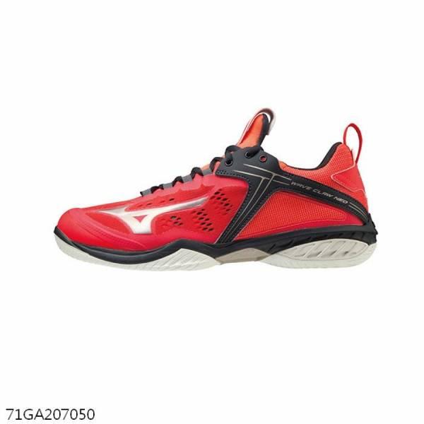 MIZUNO 羽球鞋 WAVE CLAW NEO (紅)  MIZUNO,71GA207050,羽球鞋