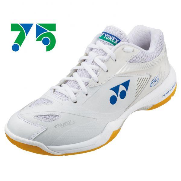 YONEX POWER CUSHION 65Z2M 男羽球鞋(白)(75週年) YONEX,65Z2M,羽球鞋,男款