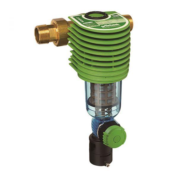 GRUNBECK手動反沖洗雜質過濾器