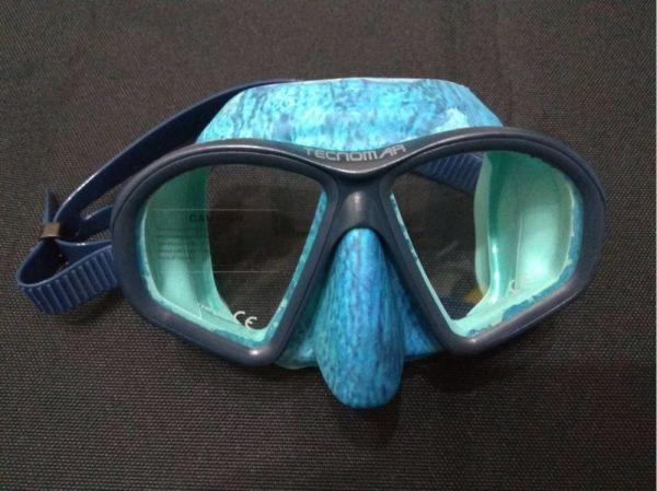 西班牙 Tecnomar 低容積面鏡  自潛,漁獵,海人潛水,自由潛水,面鏡,自潛面鏡,低容積面鏡,Tecnomar面鏡