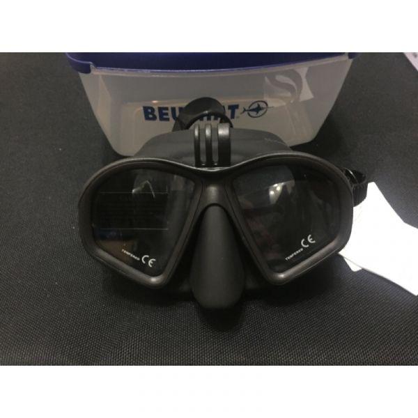 Beuchat GP1 GoPro 面鏡 低容積 自潛,漁獵,海人潛水,自由潛水,面鏡,自潛面鏡,低容積面鏡,Beuchat面鏡
