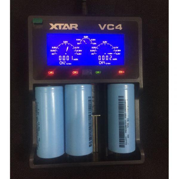 充電器 26650 電池(VC2 VC4) 自潛,漁獵,海人潛水,自由潛水,VC4充電器, 26650電池充電器,4充電池充電器