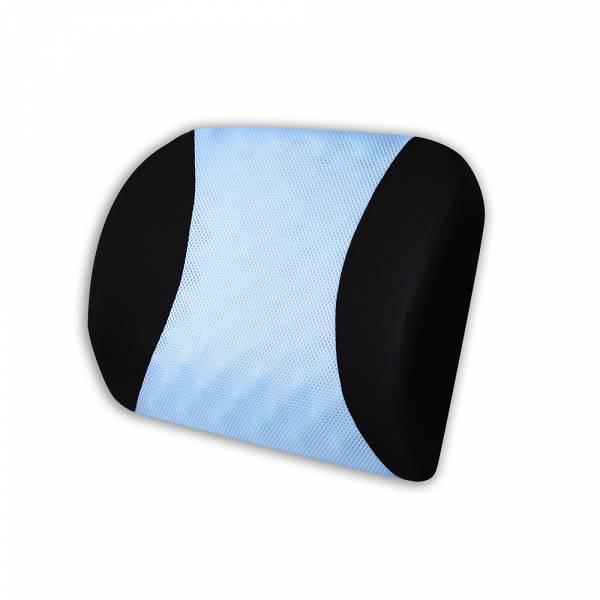 【POWER】PW-213 超透氣記憶護腰墊(蔚藍) 腰枕,靠墊,腰靠,靠腰,記憶海綿,百貨批發