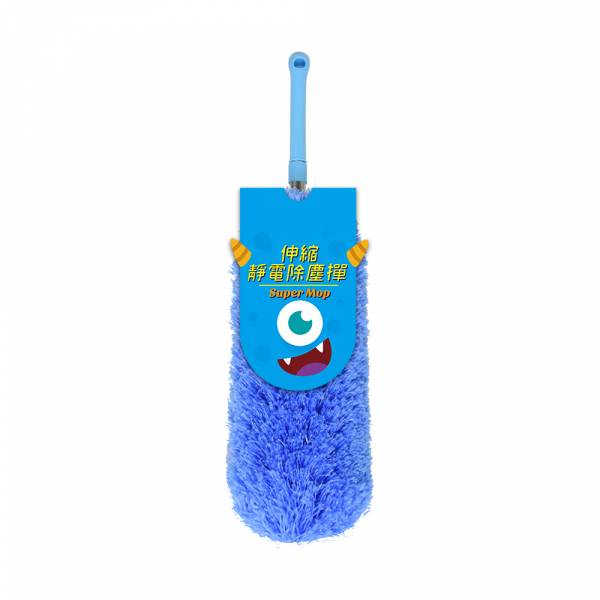 【POWER】PW-918伸縮靜電除塵撣 藍色 除塵撣,靜電撣,清潔灰塵,掃灰塵,雞毛撣子,雞毛撢子