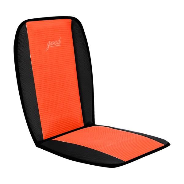 【POWER】PW-402-1 彈簧式L型透氣坐墊-橘色 座墊,L型座墊,方行座墊,透氣座墊,汽車座墊,百貨批發