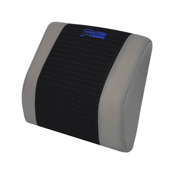 【POWER】SF-1041 極透氣護腰墊-灰 腰枕,靠墊,腰靠,靠腰,記憶海綿,百貨批發