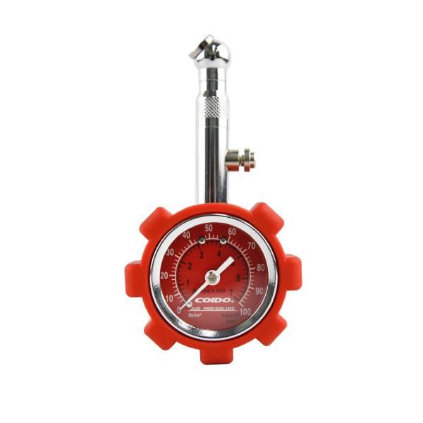【COIDO】6075 風王胎壓計(競技版) 紅 胎壓計,胎壓,胎壓偵測器,胎壓筆,胎壓檢測器,胎壓測量器,胎壓錶