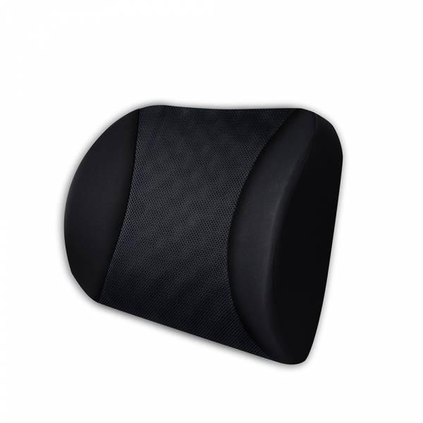 【POWER】PW-213-2 超透氣記憶護腰靠墊(黑) 腰靠,腰枕,護腰靠墊,記憶海綿