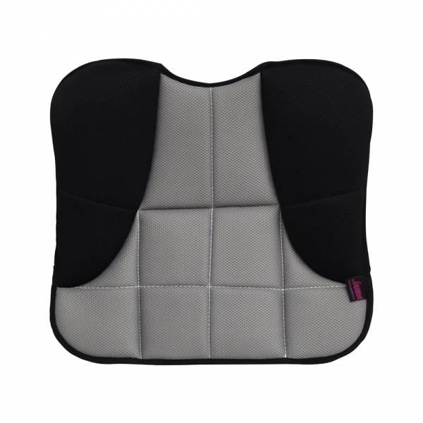 【POWER】PW-413 美臀透氣坐墊-黑灰色 座墊,方行座墊,透氣座墊,汽車座墊,百貨批發