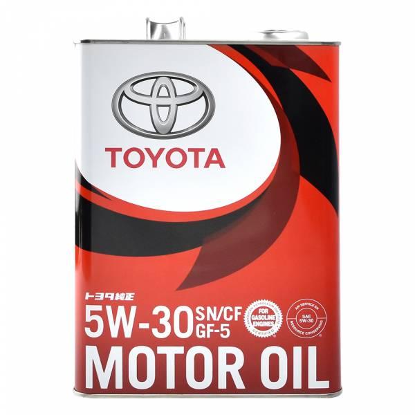 【TOYOTA】日本原廠用機油 SN CF 5W-30 GF5 4L 機油,汽車保養,引擎保養,化工保養,汽車機油,汽車百貨,百貨批發