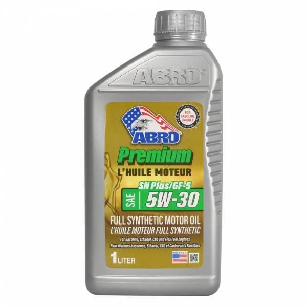 【ABRO】Full Synthetic SN PLUS 5W-30 100%全合成機油(1L) 機油,全合成機油,SN,5W-30,5W30