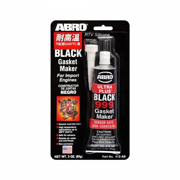 【ABRO】412-AB 耐高溫汽缸膠(650℉)-黑色 (85g)