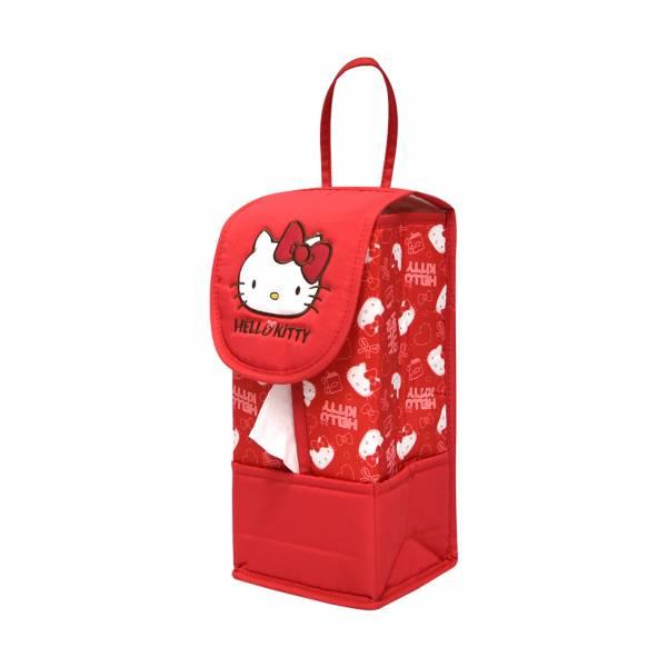 【YL】KSJ101-Kitty面紙套 面紙套,衛生紙盒,收納,車用收納,置物