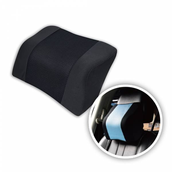 【POWER】PW-211 超透氣記憶護頸枕-黑