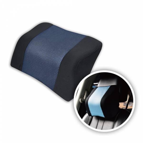 【POWER】PW-211-1 超透氣記憶護頸枕(藏青) 頭枕,枕頭,駕駛座枕頭,護頸枕,車用頭枕,百貨批發