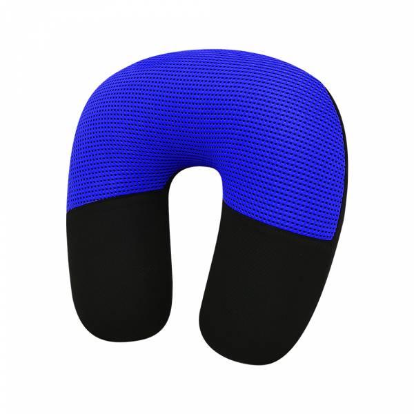 【POWER】SR-611 U型枕-黑藍 頭枕,枕頭,駕駛座枕頭,護頸枕,車用頭枕,百貨批發