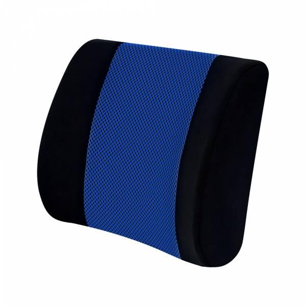【POWER】PW-207 冰涼記憶海棉護腰墊-藍 腰枕,靠墊,腰靠,靠腰,記憶海綿,百貨批發