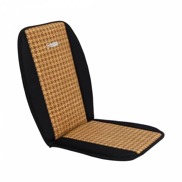 【POWER】SF-1028 L型座墊-咖啡色 腰枕,靠墊,腰靠,靠腰,記憶海綿,百貨批發