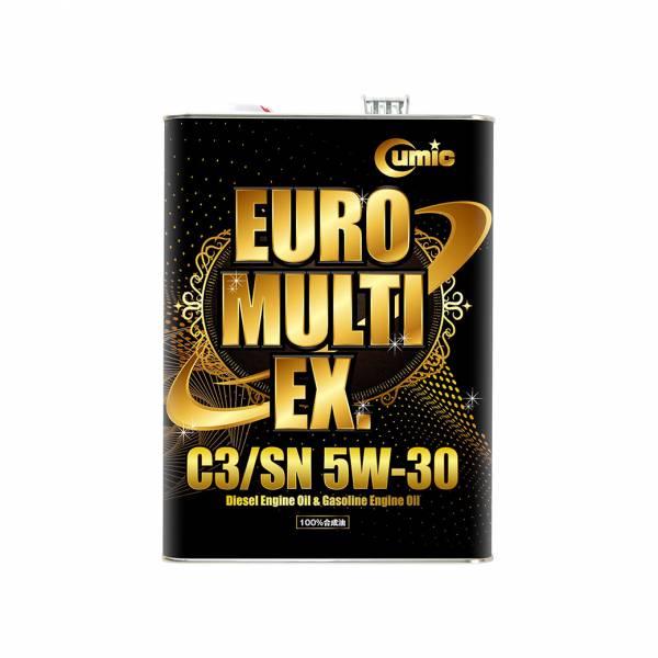 【Cumic】庫克機油 EX系列 EURO MULTI C3SN 5W-30 機油,汽車保養,引擎保養,化工保養,汽車機油,汽車百貨,百貨批發