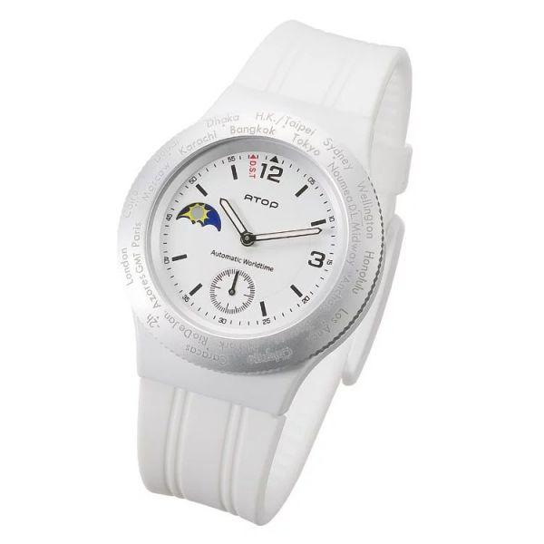 簡約質感錶 世界時區機芯,日月盤,專屬個人風格,World Time專利,Red dot,設計優良產品獎,台灣精品獎,德國漢諾威iF工業設計獎