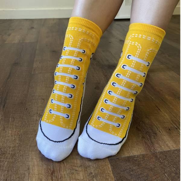 B&EGG - SHOOX鞋型襪 (帆布鞋款-MONKEY) B&EGG, 台灣製造, MIT, 流行配件, 襪子, allstar, nike, VD, 交換禮物, 紅白拖, 聖誕節, 藍白拖