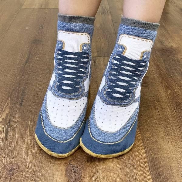 B&EGG - SHOOX鞋型襪 (球鞋款-丹寧1982) B&EGG, 台灣製造, MIT, 流行配件, 襪子, allstar, nike, VD, 交換禮物, 紅白拖, 聖誕節, 藍白拖