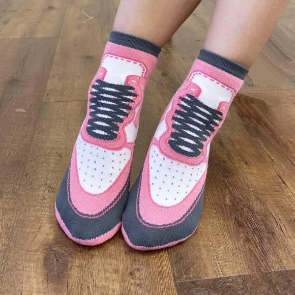 B&EGG - SHOOX鞋型襪 (球鞋款-STRAWBERRY) B&EGG, 台灣製造, MIT, 流行配件, 襪子, allstar, nike, VD, 交換禮物, 紅白拖, 聖誕節, 藍白拖