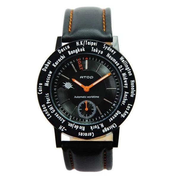 經典紳士錶 世界時區機芯,日月盤,專屬個人風格,World Time專利,Red dot,設計優良產品獎,台灣精品獎,德國漢諾威iF工業設計獎