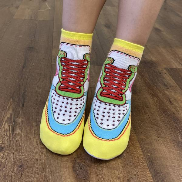 B&EGG - SHOOX鞋型襪 (球鞋款-PUFF) B&EGG, 台灣製造, MIT, 流行配件, 襪子, allstar, nike, VD, 交換禮物, 紅白拖, 聖誕節, 藍白拖