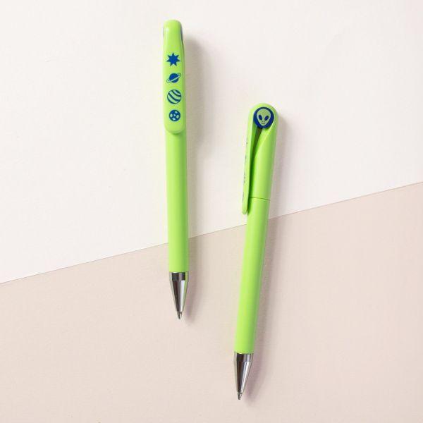 外星人7年筆 原子筆, 開學, 環保, 七年筆, 交換禮物, 聖誕節, 情書, 公文