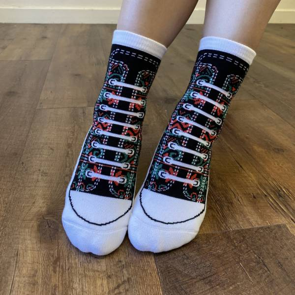 WSS X B&EGG聯名款 - SHOOX鞋型襪 (五元素) B&EGG, 台灣製造, MIT, 流行配件, 襪子, allstar, nike, VD, 交換禮物, 紅白拖, 聖誕節, 藍白拖