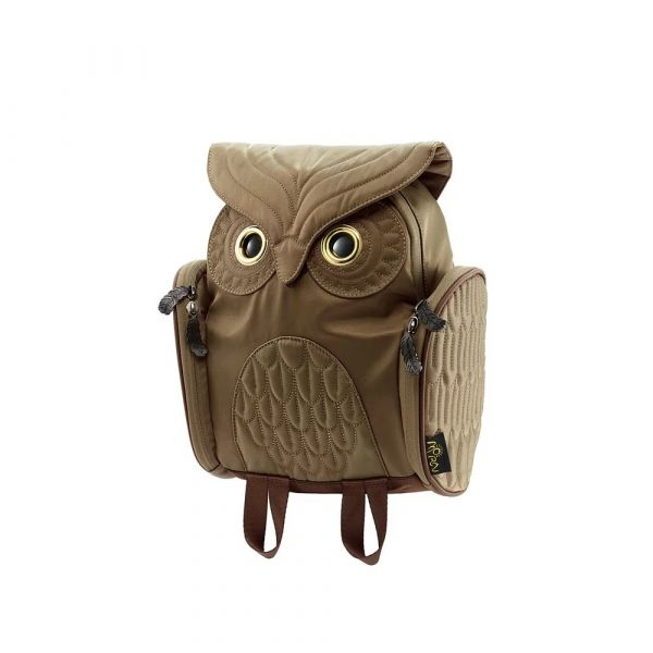 貓頭鷹兒童款背包(減壓背帶設計) 貓頭鷹, Morn Creations, 貓頭鷹兒童, 減壓背帶
