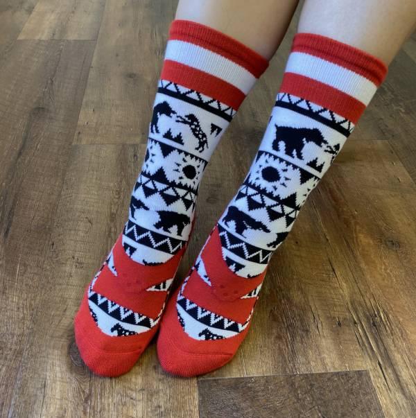 WSS X B&EGG聯名款 - SHOOX鞋型襪 (熊豹) B&EGG, 台灣製造, MIT, 流行配件, 襪子, allstar, nike, VD, 交換禮物, 紅白拖, 聖誕節, 藍白拖