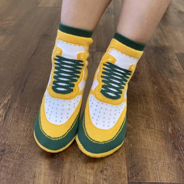 B&EGG - SHOOX鞋型襪 (球鞋款-SAMBA) B&EGG, 台灣製造, MIT, 流行配件, 襪子, allstar, nike, VD, 交換禮物, 紅白拖, 聖誕節, 藍白拖