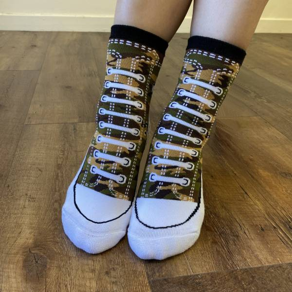 B&EGG - SHOOX鞋型襪 (帆布鞋款-SEALS) B&EGG, 台灣製造, MIT, 流行配件, 襪子, allstar, nike, VD, 交換禮物, 紅白拖, 聖誕節, 藍白拖