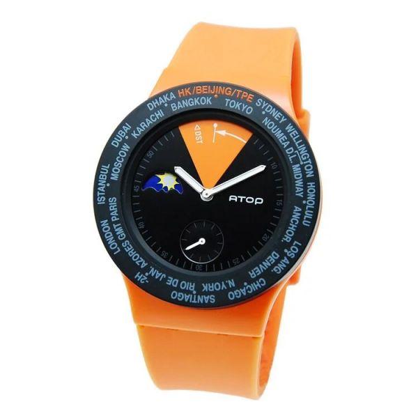 繽紛炫彩錶款 世界時區機芯,日月盤,專屬個人風格,World Time專利,Red dot,設計優良產品獎,台灣精品獎,德國漢諾威iF工業設計獎