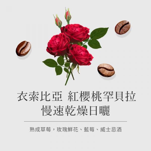 【衣索比亞 紅櫻桃罕貝拉】 慢速乾燥日曬  • 單品咖啡豆 咖啡豆,精品咖啡豆,台北咖啡豆