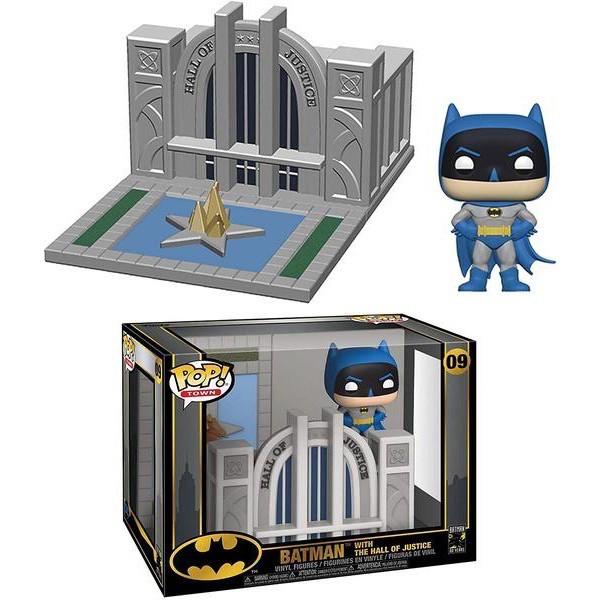 FUNKO POP 城鎮系列 蝙蝠俠 80週年 正義大廳 蝙蝠俠