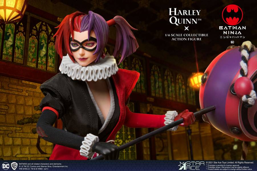 SA0100 忍者蝙蝠俠 哈莉奎茵 一般版