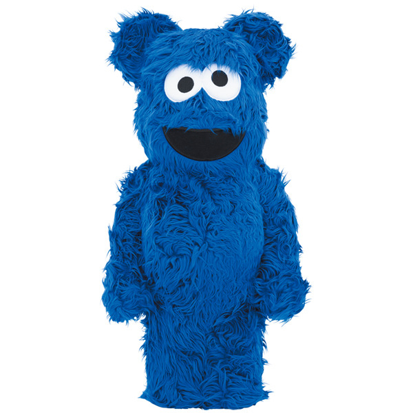 BE@RBRICK 1000% Cookie Monster Costume ver. 餅乾怪獸