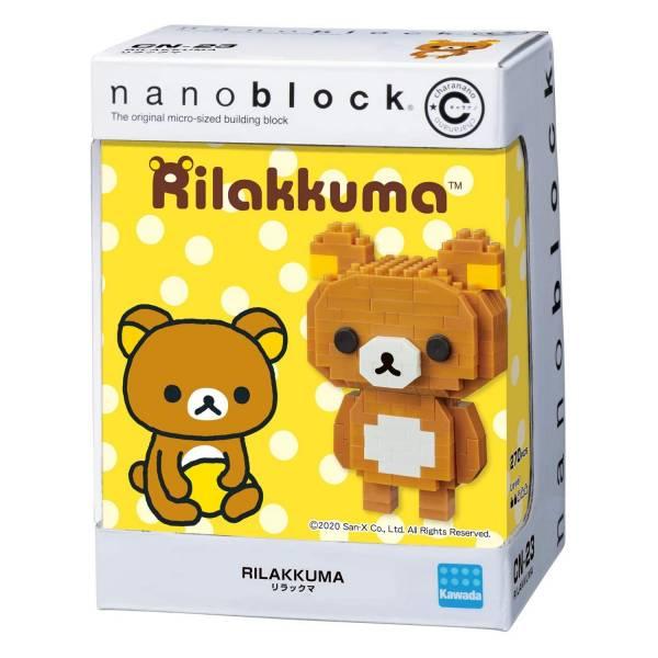 nanoblock CN-23 拉拉熊 KD21687